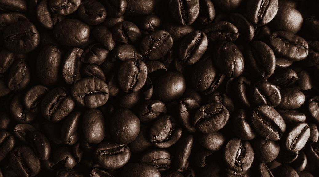 unprocessed coffee beans