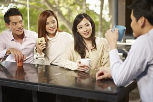 The popularity of coffee in Japan