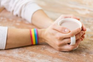 Who is the person behind the Starbucks pride cup?