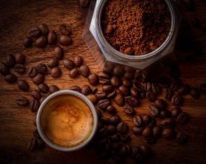 enjoying mug of sumatran coffee