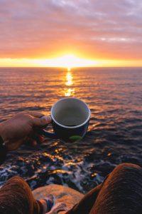 morning mug of favourite sumatran coffee
